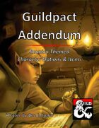 Guildpact Addendum: Ravnica Themed Character Options and Items