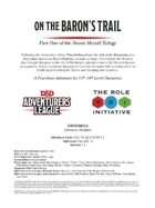 CCC-TRI-22 On the Baron's Trail (Part One of the Storm Series)