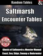 Saltmarsh Encounter Tables - Random Encounters