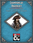 Champions of Ravenloft Pirate of the Sea of Sorrows