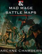 Mad Mage Battle Maps - Arcane Chambers