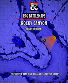 Rocky Canyon (Night)