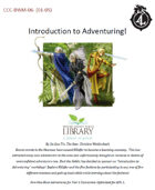 CCC-BWM-06 Introduction to Adventuring