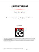 Human Variant (5e)