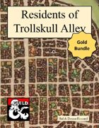 Residents of Trollskull Alley - Gold [BUNDLE]