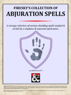 Abjuration Spells - Firesky's Collection