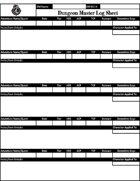 AL Season 8 DM Log Sheet and Quest Tracker