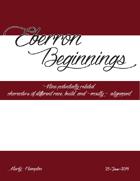 Eberron Beginnings