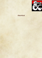 Araneae: A Homebrew 5e Race