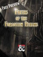 Free Preview: Faiths of the Forgotten Realms