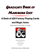 Grazaxe's Deck of Marvelous Loot