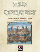 Vehicle Construction Kit Supplement 7: Medieval Ships