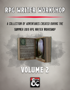 RPG Writer Workshop Vol. 2 [BUNDLE]