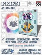 Prism: Character Sheet