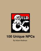 100 Unique NPCs