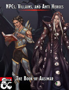 NPCs, Villains, and Anti-Heros: The Book of Aasimar (Fantasy Grounds)