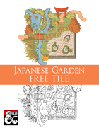 Japanese Garden (5x5 Tile) Dungeon Squares