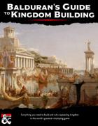 Balduran\'s Guide to Kingdom Building
