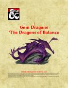 Gem Dragons - Dragons of Balance