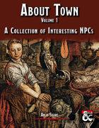 About Town NPCs - Volume 1