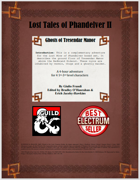Lost Tales of Phandelver II - Ghosts of Tresendar Manor