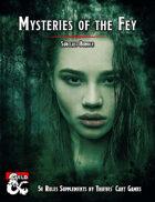 Mysteries of the Fey [BUNDLE]