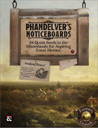 Phandelver's Noticeboards: 24 Quest Seeds for the Hinterlands (Fantasy Grounds)