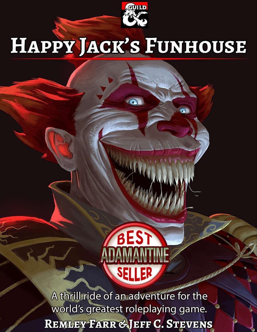 Happy Jack's Funhouse Cover