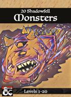 20 Shadowfell Monsters (Levels 1-20)