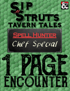 1-Page Encounter: Chef Special