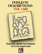 Dungeon Descriptions: The Lair