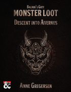 Monster Loot – Baldur's Gate: Descent Into Avernus