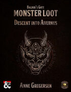 Monster Loot – Baldur's Gate: Descent Into Avernus (Fantasy Grounds)