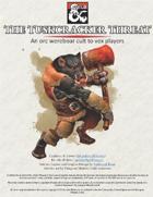 The Tuskcracker Threat: An Orc Wereboar Cult