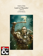 Barbarian: Path of the Lord of Thunder