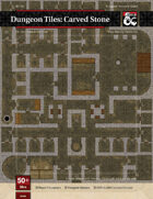 Dungeon Tiles: Carved Stone