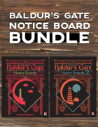 Baldur's Gate Notice Boards [BUNDLE]