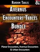 Avernus Random Tables Bundle - Table Rolls [BUNDLE]