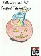 Halloween & Fall Celebration Trinkets