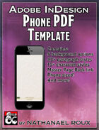 InDesign Phone PDFs Template