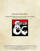Paladin Oath Pack