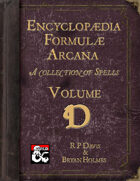 Encyclopaedia Formulae Arcana - D