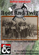 Root And Twig: A Timber Themed Class Booklet - DEMO BOOKLET