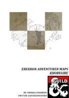 Eberron Adventurer Maps - Khorvaire