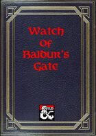 City Watch of Baldur's Gate