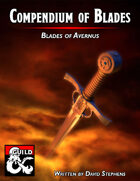 Compendium of Blades Vol.2 Blades of Avernus