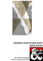Eberron Adventurer Maps - Mror Holds