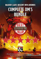 Baldur's Gate: Descent into Avernus Complete DM's Bundle (maps, guides, cheatsheets and more)