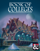 Book of Colleges (5e Bard Subclasses)