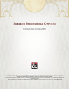 Eberron Strongholds